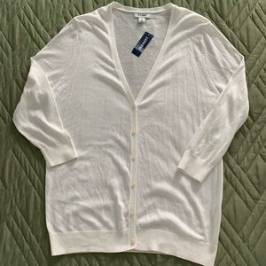 Old Navy 3/4 Sleeve V-Neck Button Down Cardigan